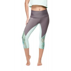 "Legging ""Animal Aqua""/ gris"